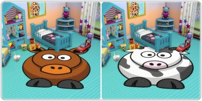 Toddlers Animals Rugs at Annett's Sims 4 Welt image 2075 670x337 Sims 4 Updates