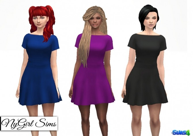 Butterfly Sleeve Dress at NyGirl Sims image 2084 670x473 Sims 4 Updates