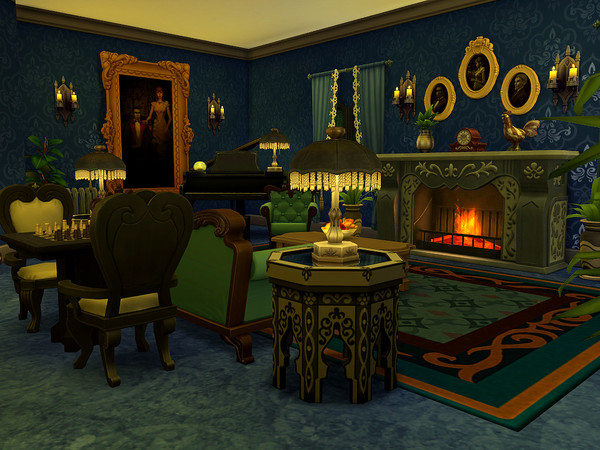 The Monroe house by sharon337 at TSR image 21 Sims 4 Updates