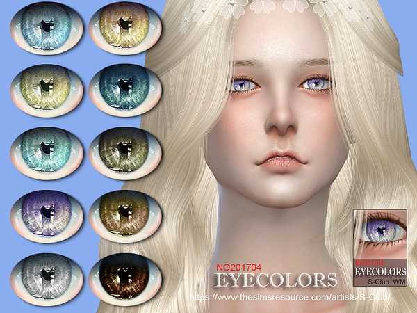 Eyecolors 201704 by S Club WM at TSR image 2102 Sims 4 Updates