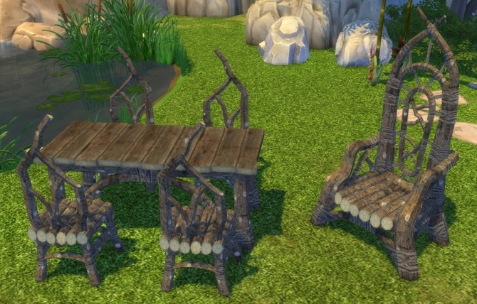 Fire flowers Dark Elf Basics set for Dunmeri Homes by BigUglyHag at SimsWorkshop image 21114 670x428 Sims 4 Updates