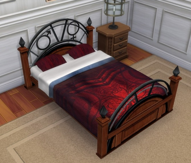 Recolors of PlasticBoxes Double Mattress Cordelia/Barnish/Utopiate by BigUglyHag at Mod The Sims image 21313 670x572 Sims 4 Updates