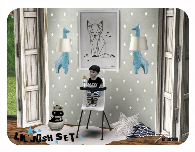 Lil Josh Set for Toddlers at Daer0n – Sims 4 Designs image 214 670x524 Sims 4 Updates