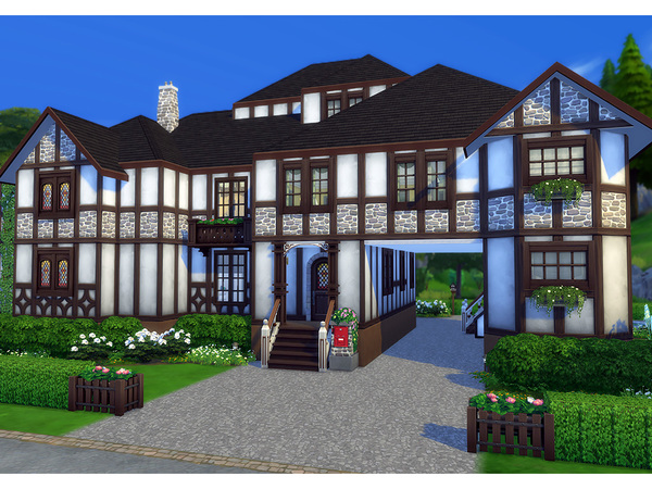 Stromberg house by Degera at TSR image 2140 Sims 4 Updates
