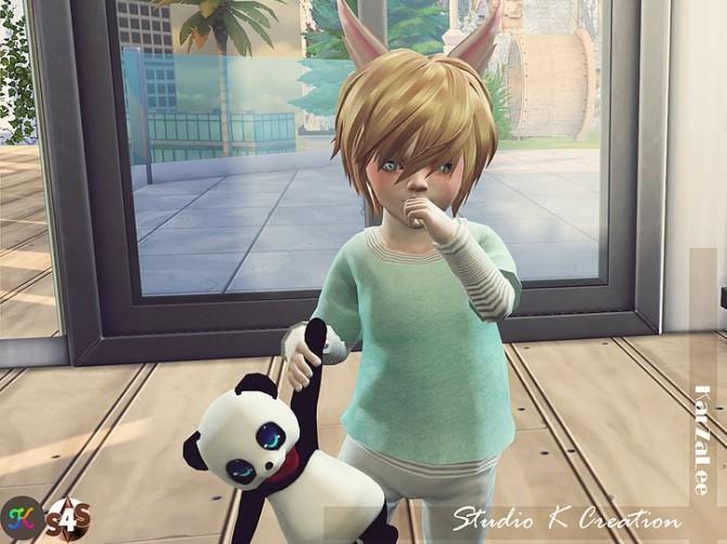 Giruto 13 Layer Tee solid at Studio K Creation image 2156 670x502 Sims 4 Updates