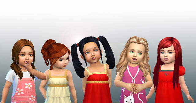 Sims 4 Toddlers Hair Pack 3 at My Stuff