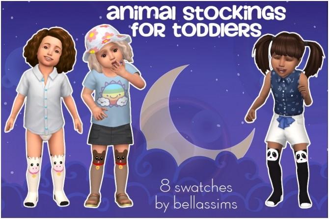 Animal stockings at Bellassims image 2168 670x447 Sims 4 Updates