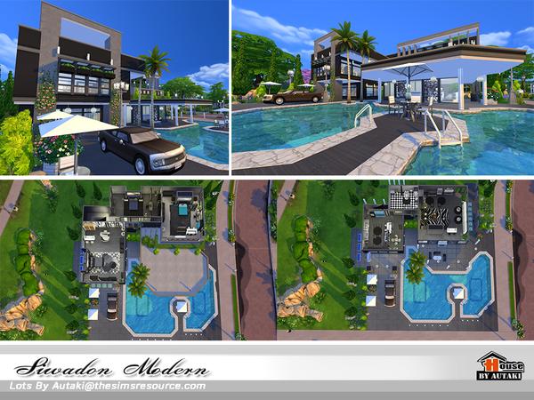 Siwadon Modern by autaki at TSR image 2169 Sims 4 Updates