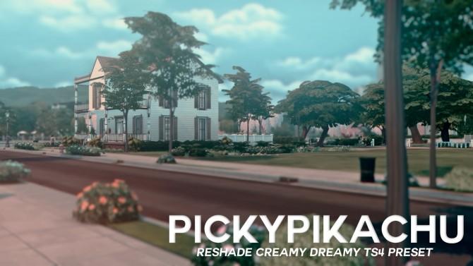 CREAMY DREAMY TS4 PRESET at Pickypikachu image 2176 670x377 Sims 4 Updates