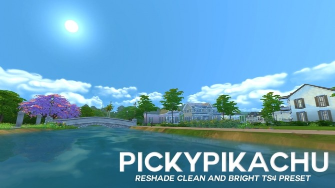 CLEAN & BRIGHT TS4 PRESET at Pickypikachu image 2196 670x377 Sims 4 Updates