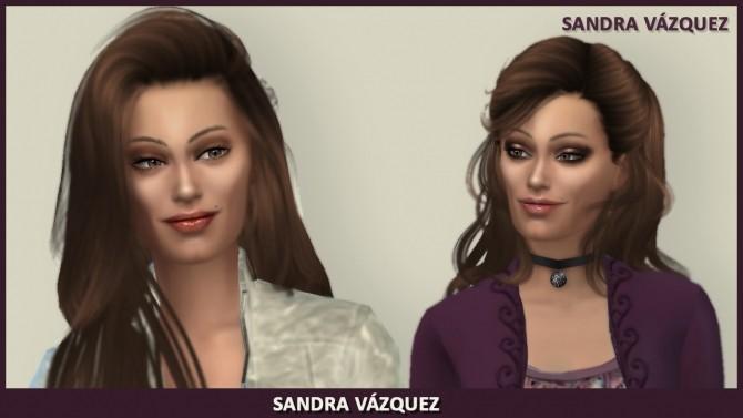 Sandra Vázquez by Mary Jiménez at pqSims4 image 2221 670x377 Sims 4 Updates