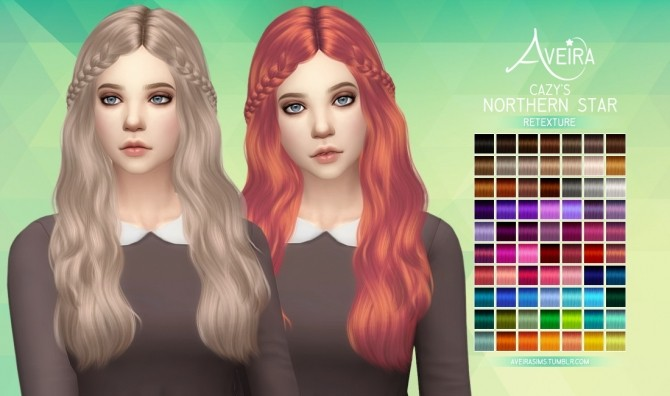 Cazy's Northern Star Hair Retexture at Aveira Sims 4 image 22210 670x396 Sims 4 Updates