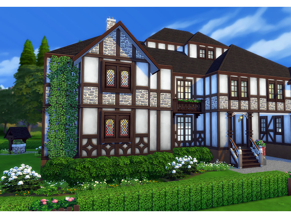 Stromberg house by Degera at TSR image 2230 Sims 4 Updates