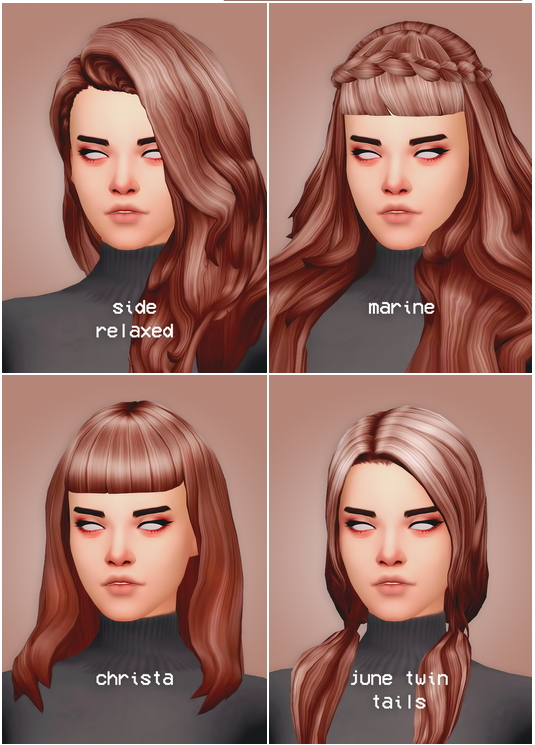 Hair dump four at Seven Sims image 2237 Sims 4 Updates