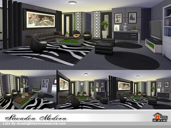 Siwadon Modern by autaki at TSR image 2240 Sims 4 Updates