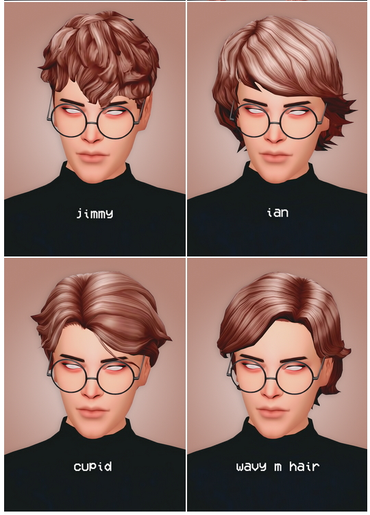Hair dump four at Seven Sims image 2256 Sims 4 Updates