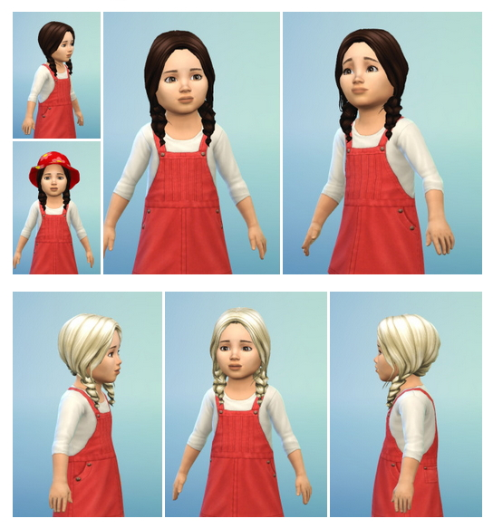 Little Braids for Toddler at Birksches Sims Blog image 231 Sims 4 Updates