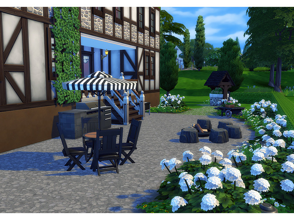 Stromberg house by Degera at TSR image 2336 Sims 4 Updates