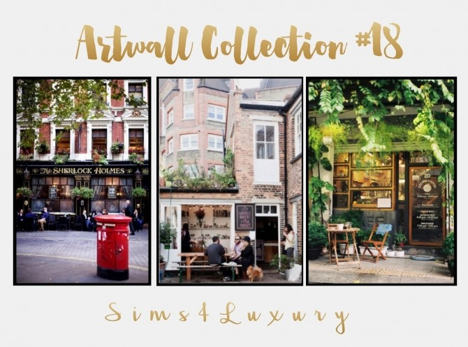 Artwall Collection #18 London at Sims4 Luxury image 2355 670x497 Sims 4 Updates