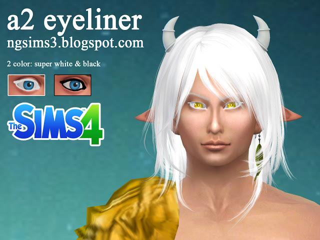 A2 eyeliner at NG Sims3 image 2368 Sims 4 Updates