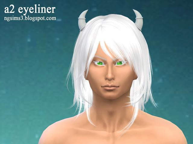 A2 eyeliner at NG Sims3 image 2377 Sims 4 Updates