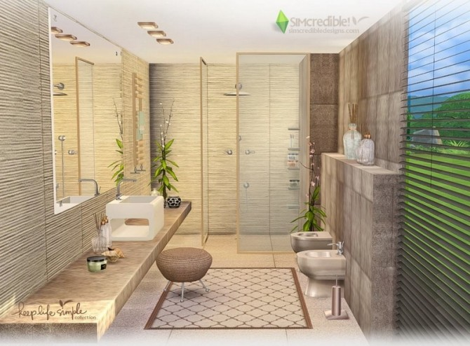 Keep Life Simple bathroom at SIMcredible! Designs 4 image 2394 670x494 Sims 4 Updates