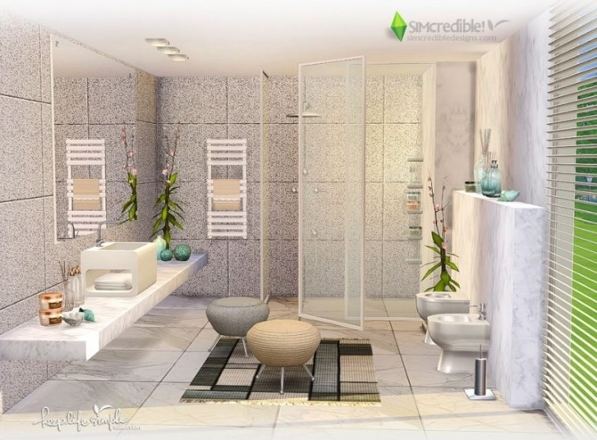 Keep Life Simple bathroom at SIMcredible! Designs 4 image 24111 670x494 Sims 4 Updates