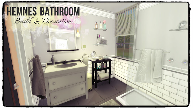 Hemnes Bathroom at Dinha Gamer image 24210 Sims 4 Updates
