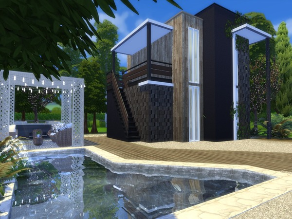 Valencia house by Suzz86 at TSR image 2425 Sims 4 Updates