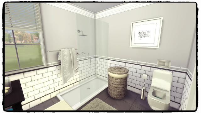 Hemnes Bathroom at Dinha Gamer image 2436 Sims 4 Updates