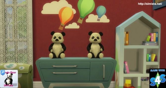 Sims 4 Panda Bear at Simista