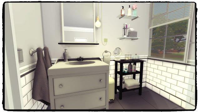 Hemnes Bathroom at Dinha Gamer image 2445 Sims 4 Updates