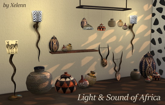 Light & Sound of Africa set at Xelenn image 246 Sims 4 Updates