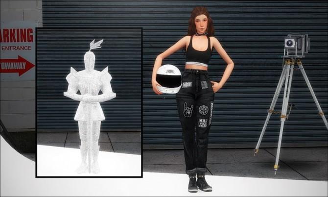 Pose Pack Moto Shoei Helmet At Nyuska 187 Sims 4 Updates