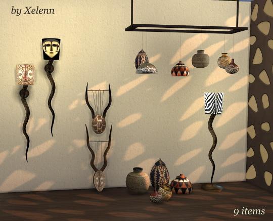 Light & Sound of Africa set at Xelenn image 250 Sims 4 Updates