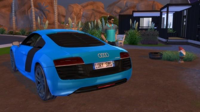 Audi R8 e tron at LorySims image 2522 670x377 Sims 4 Updates