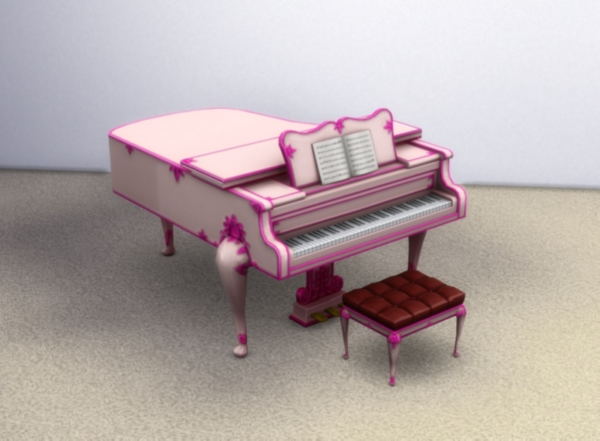 Buyable Classical Piano recolors by xordevoreaux at Mod The Sims image 2527 Sims 4 Updates