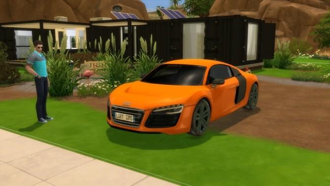 Audi R8 e tron at LorySims image 2532 670x377 Sims 4 Updates