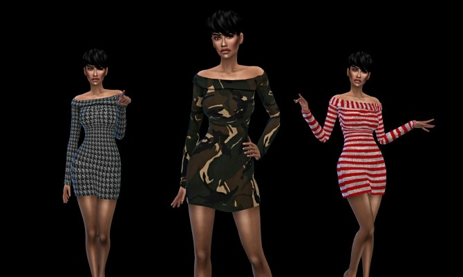 Kora Dress at Leo Sims image 254 670x401 Sims 4 Updates