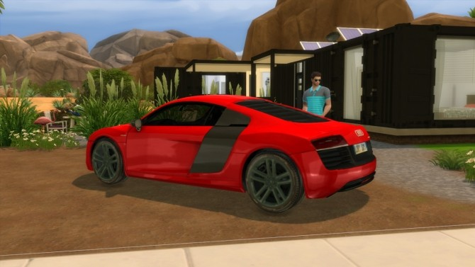Audi R8 e tron at LorySims image 2542 670x377 Sims 4 Updates