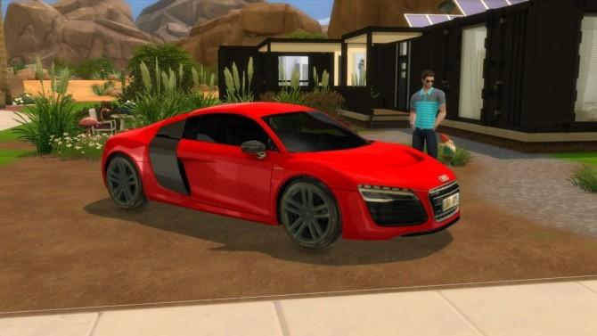 Audi R8 e tron at LorySims image 2552 670x377 Sims 4 Updates