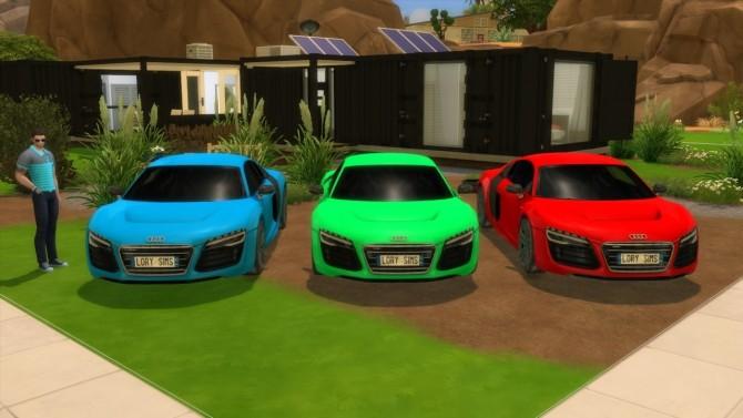 Audi R8 e tron at LorySims image 2562 670x377 Sims 4 Updates