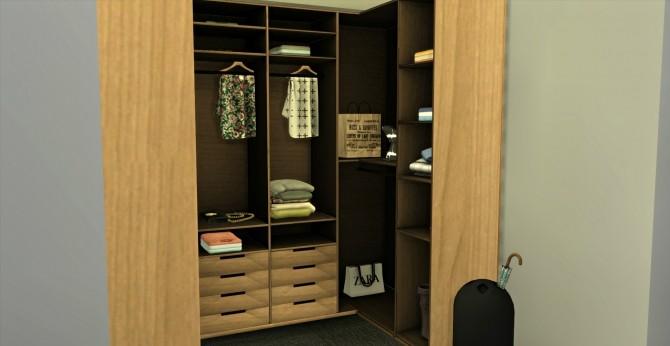 Wardrobe Cabinet At Leo Sims 187 Sims 4 Updates
