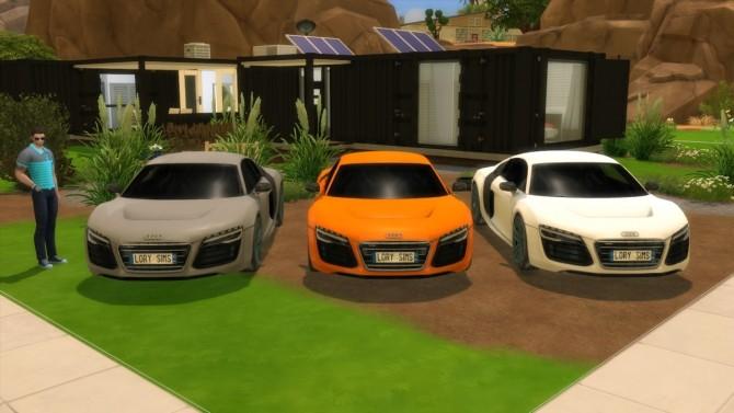 Audi R8 e tron at LorySims image 2572 670x377 Sims 4 Updates