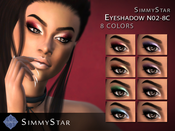 Eyeshadow N02 by Simmy.Star at TSR image 2617 Sims 4 Updates
