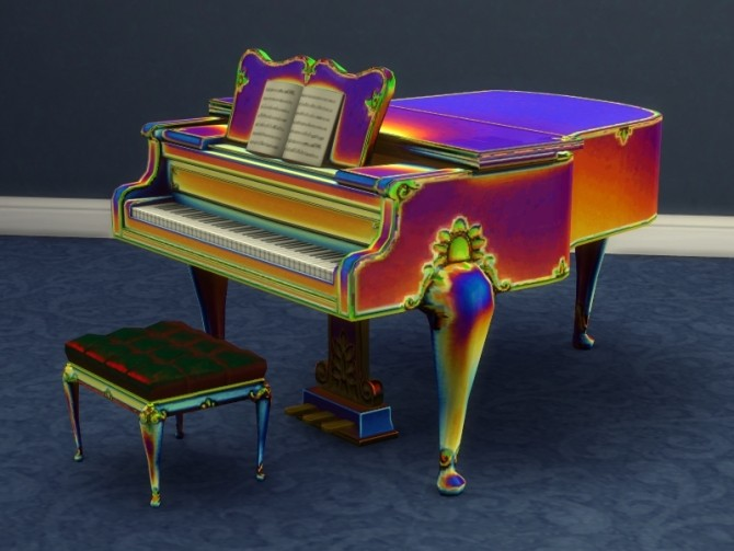 Buyable Classical Piano recolors by xordevoreaux at Mod The Sims image 2628 670x503 Sims 4 Updates