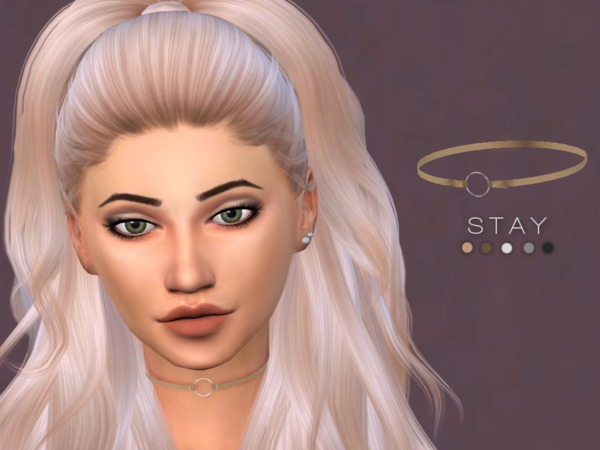 Stay Choker by Christopher067 at TSR image 2634 Sims 4 Updates