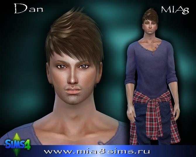 Sims 4 Dan at Mia8Sims