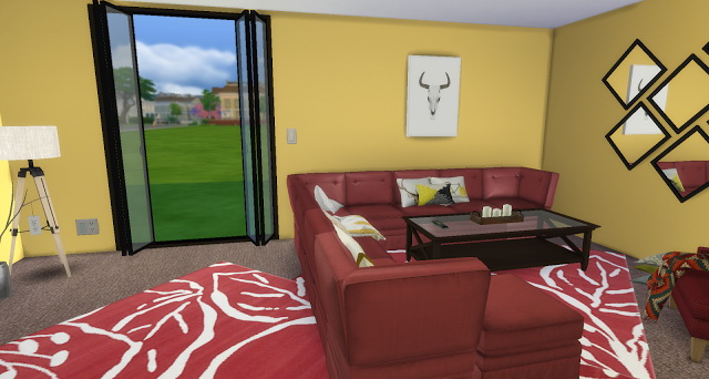 Golden Rose Livingroom at Pandasht Productions image 2665 Sims 4 Updates