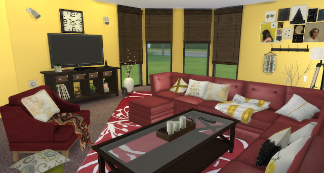 Golden Rose Livingroom at Pandasht Productions image 2674 Sims 4 Updates